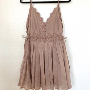 Mauve Mini Dress
